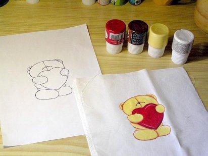 Como pintar en tela y el testimonio de la abuela sara - Como pintar sobre tela ...