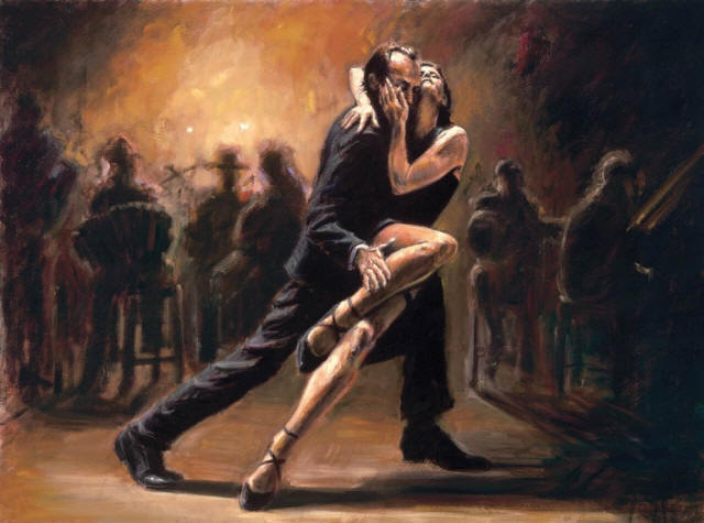Tango Dance Paintings