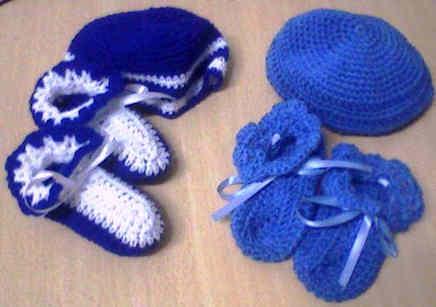 Tejemos escarpines de bebe | ABRIENDO CAMINOS DE VIDA